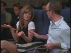 Passager nerveux dans l'avion