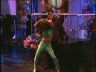 Danseuse très souple